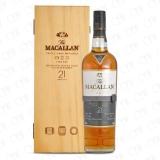 The Macallan 21 Years Old Highland Single Malt Fine Oak Cover photo