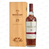 The Macallan 25 Years Old Highland Single Malt Fine Oak Cover photo